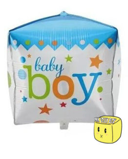 Blue Balloon Cube for Boys