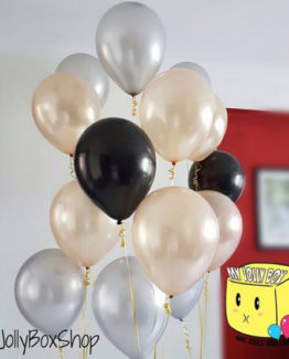 Gentleman Theme 10 Balloons Package, 11 Inch Latex Balloon