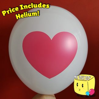 Heart Icon Latex Normal Balloon by Jolly Box