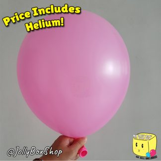 Pink Latex Normal Balloon by Jolly Box