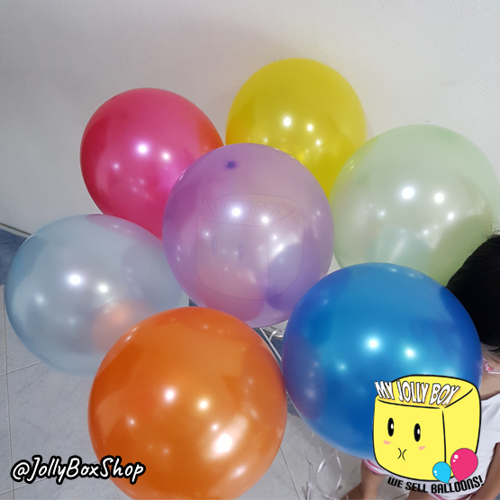 7 Balloons Rainbow Theme