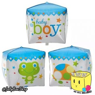 Cube Balloon For Baby Boy Party Celebrations