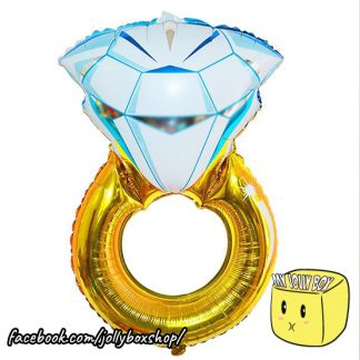 Diamong Ring Mylar Balloon